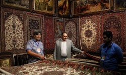 برگزاری نمايشگاه فرش دستباف در اصفهان