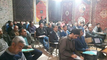 برگزاری دوره آموزشی قالیشویی فرش دستباف در شیراز