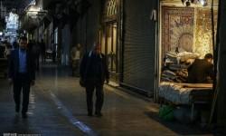 تعطیلی تعدادی از مغازه های فروش فرش دستباف اصفهان