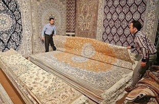 برگزاری نمایشگاه فرش در ماکو آذربایجان غربی