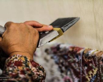 بافت ۳۶۰۰ مترمربع فرش دستباف در ایلام