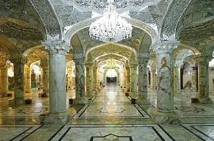 بافت فرش 5 هزارمتری کاشانیها برای صحن حضرت زهرا